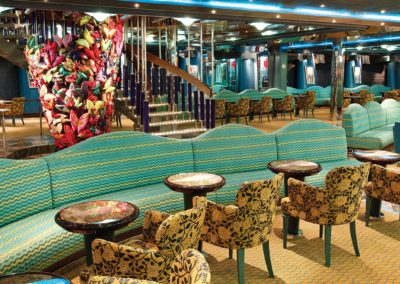Lounge auf der Costa Deliziosa