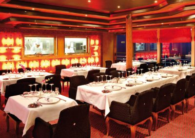 Restaurant auf der Costa Deliziosa