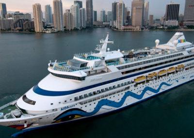 AIDAaura Kreuzfahrt nach Miami