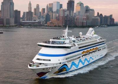 AIDAaura Kreuzfahrt nach New York