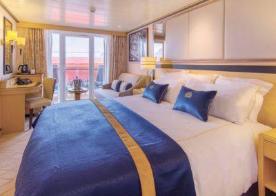 Balkonkabine der Queen Mary 2 buchen bei sail-and-cruise.de