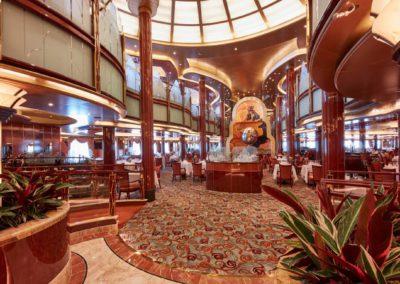 britannia restaurant auf dem Kreuzfahrtschiff Queen Victoria
