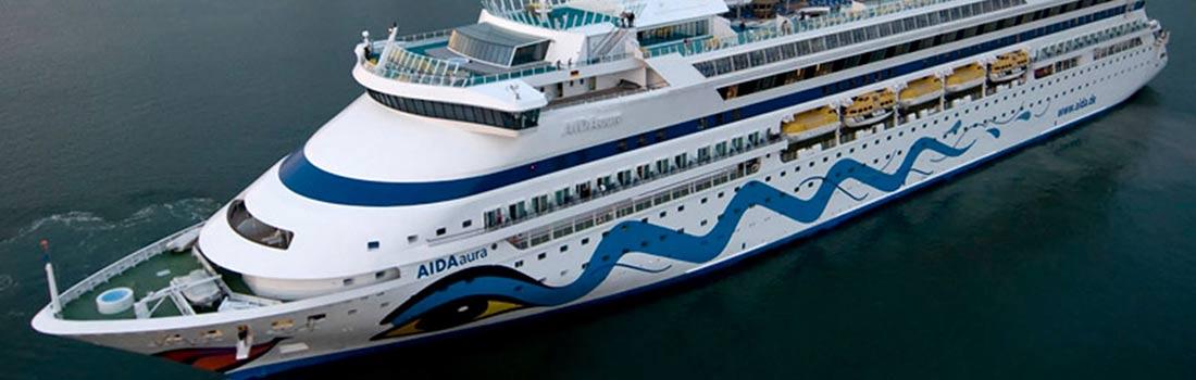 AIDAaura Kreuzfahrten günstig buchen bei sail-and-cruise.de