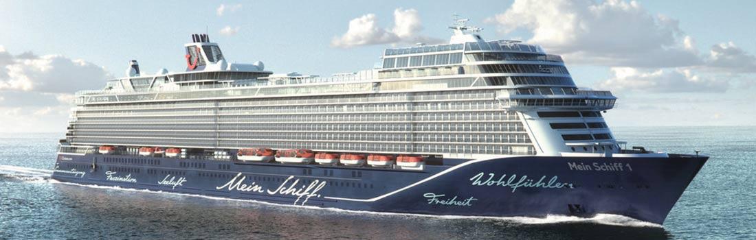 Neue Mein Schiff 1 online buchen
