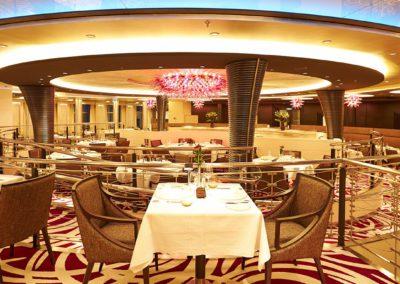 Restaurant der MS Europa2