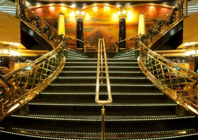 MSC Splendida Treppen