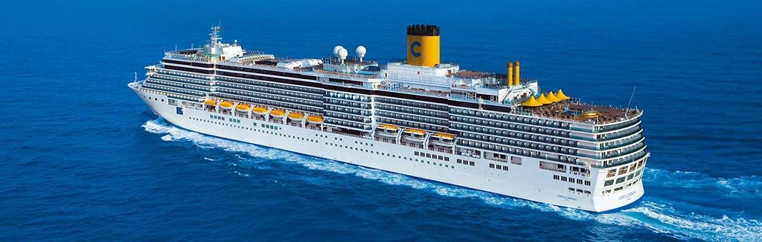 Costa Luminosa Kreuzfahrt buchen bei sail-and-cruise.de
