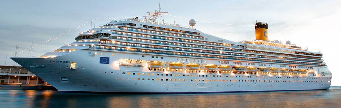 Costa Magica Kreuzfahrten buchen bei sail-and-cruise.de