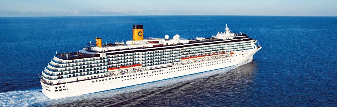 Costa Mediterranea Kreuzfahrten buchen bei sail-and-cruise.de