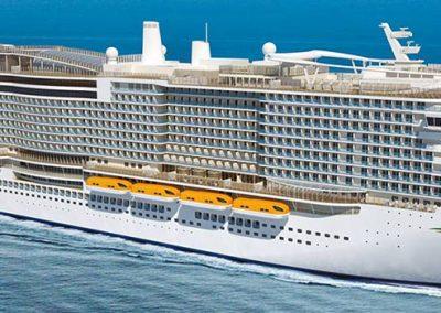 Costa Smeralda Kreuzfahrten ab 2019 buchbar bei sail-and-cruise.de
