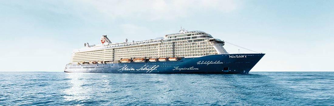 Mein Schiff 4 von TUI Cruises