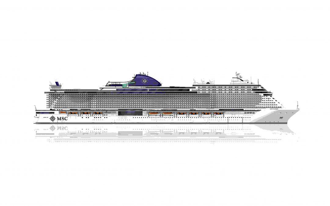 MSC Seashore wird das neue Superschiff von MSC