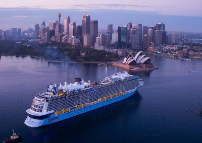 Ovation of the Seas in Sydney