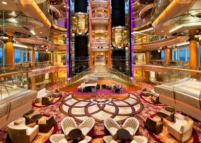 Rhapsody of the Seas atrium
