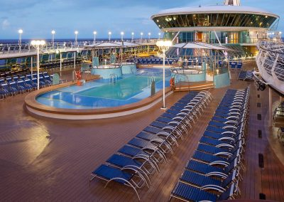 Rhapsody of the Seas Deck