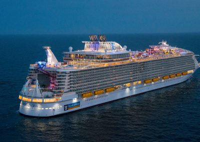 Symphony of the Seas Seitenansicht