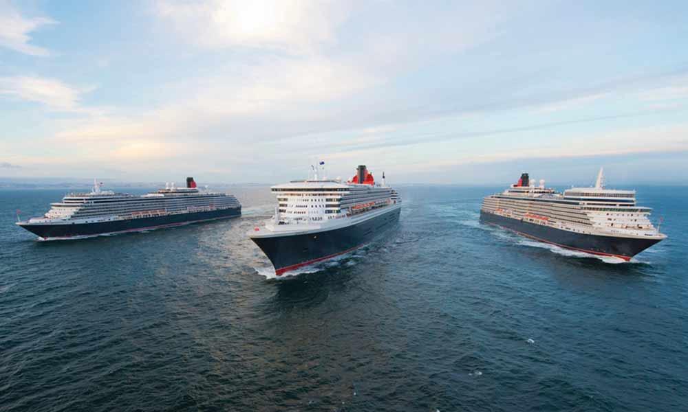Die Flotte von Cunard hat bei den Kreuzfahrten 2020 ein tolles Angebot.