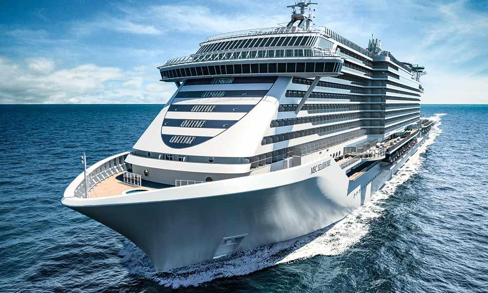 Neues MSC Flaggschiff ab 2021: die MSC Seashore
