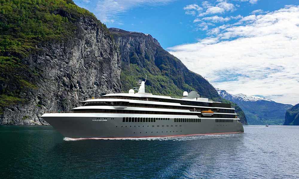 Kreuzfahrten 2020 von Nicko Cruises mit der World Explorer auch auf hoher See.
